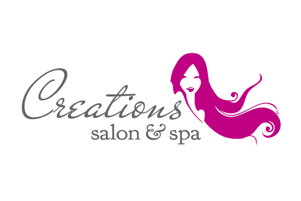 Salon logo design joy studio design gallery best design for A new creation salon