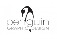 Penguin Graphic Design logo design
