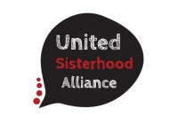 United Sisterhood Alliance logo design
