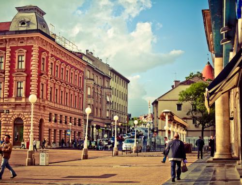 My last day in Zagreb, Croatia's capital city